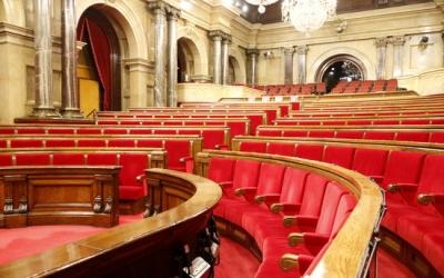 Hemicicle buit del Parlament | ACN