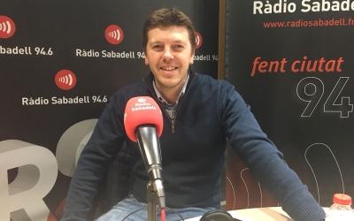 Jordi Casamada a Ràdio Sabadell   Roger Benet