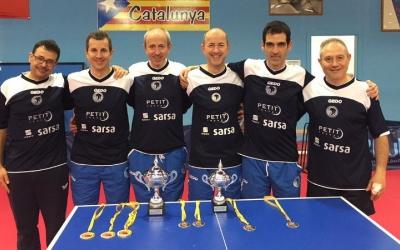 El Natació Sabadell campió de Catalunya de veterans +50 | CN Sabadell TT