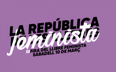 La IIIa edició de la Fira del llibre feminista es celebrarà el 10 de març.