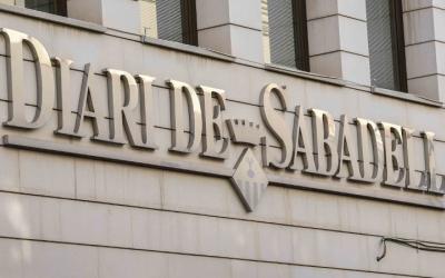 La capçalera del Diari de Sabadell està a la venda. Foto: Roger Benet
