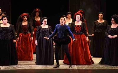 Don Carlo, actualment en cartell, produïda pels Amics de l'Òpera de Sabadell | Roger Benet