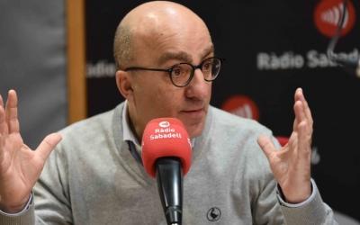 El Síndic Municipal de Greuges, Josep Escartín, ha passat per Ràdio Sabadell abans de deixar el càrrec. Foto: Roger Benet
