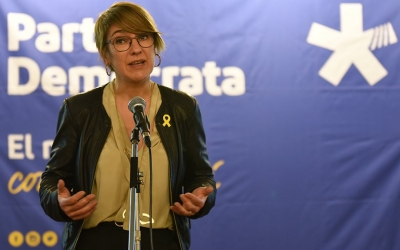 Lourdes Ciuró, guanyadora de les primàries del PDeCAT. | Foto: Roger Benet