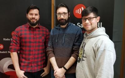 Óscar Ulloa, Miguel Marchal i Francesc Grimalt als estudis de Ràdio Sabadell | Raquel García
