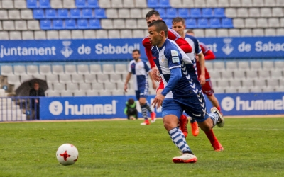 Felipe Sanchón pot ser baixa pel partit de diumenge | CE Sabadell