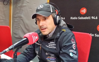 Foto d'arxiu de Sergi Giralt a Ràdio Sabadell  | Ràdio Sabadell
