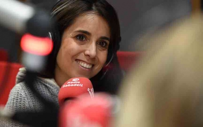 Laura Rosel al programa Al Matí | Roger Benet