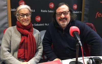 Rosa Maria Puigserra i Miguel Laguna, membres de Federalistes d'Esquerres.