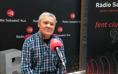 Pedro del Jesús, membre de la Plataforma en defensa de les pensions, ha passat per l'estudi de Ràdio Sabadell.