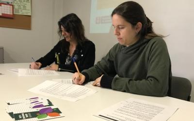 La directora general d'Igualtat, Mireia Mata, i la regidora de Drets Civils i Gènere, Míriam Ferràndiz.