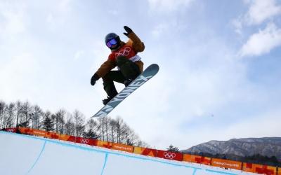 Queralt Castellet en acció a l'snowpark de PyeongChang | JJOO
