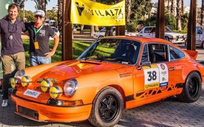 Sergi Giralt amb el Porsche 911 que pilotarà al Rally Catalunya