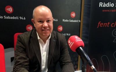 Joan Garcia ha valorat la situació actual a Ràdio Sabadell/ Mireia Sans