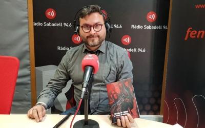 Abel Carrasco, al programa Al Matí de Ràdio Sabadell/ Raquel Garcia