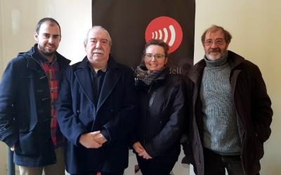 Els responsables del projecte per recollir la història del moviment veïnal/ Ràdio Sabadell