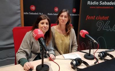 Àstrid Nacarino i  Cristina Ortegosa, llevadores del Parc Taulí | Raquel García