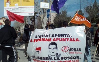 Concentració antifeixista d'Arran   Pere Gallifa