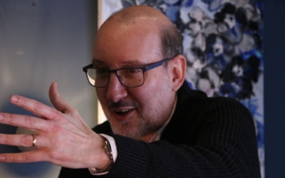 El periodista Antoni Bassas, autor del llibre 'Bon dia, són les vuit!'