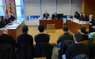La sala de vistes durant el judici | Roger Benet