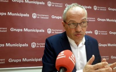 Carles Rossinyol demana mesures de mobilitat suportades per dades/ Karen Madrid
