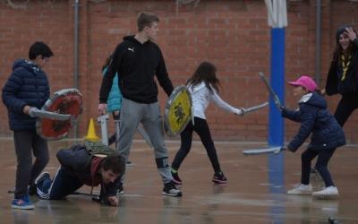 Softcombat a l'Escola Creu Alta | Roger Benet