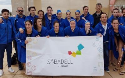 L'Astralpool Natació Sabadell espera rival i seu per a la final four