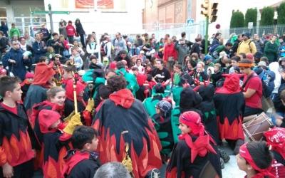 Els Diables de La Creu Alta, en un dels actes de Festa Major/ Cedida