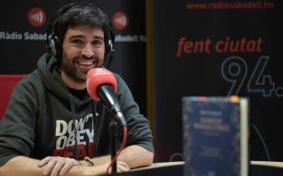Roc Casagran ha presentat el 'Direm nosaltres' a Ràdio Sabadell/ Roger Benet