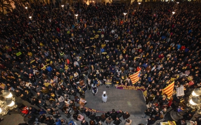 5.000 persones es concentres contra els empresonaments | Roger Benet