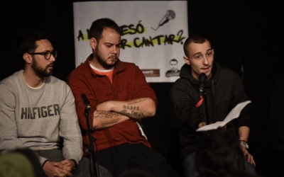 Taula rodona amb Elgio, Pablo Hasél i Valtonyc | Roger Benet