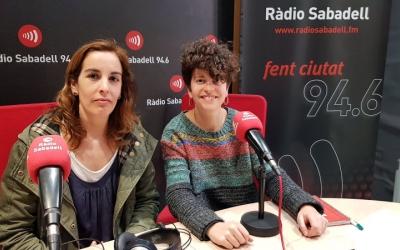 Noemí Gàlvez i Agnès Planas han presentat Al matí les III jornades consentides. Foto: Roger Benet