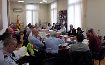Imatge d'una de les Juntes de Seguretat/  Ajuntament de Sabadell