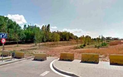 Imatge dels terrenys on s'ha de fer la fase final del Parc del Nord | Roger Benet