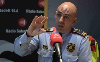 Roger Sales, nou intendent dels Mossos d'Esquadra a Sabadell | Roger Benet