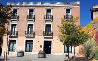 Edifici del SUES a la plaça del Gas | Pau Duran