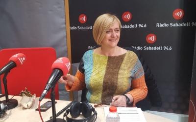 Marisol Martínez ha parlat de la nova marca a Ràdio Sabadell/ Mireia Sans