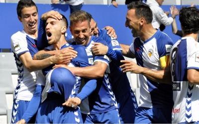 Dedicatòria especial d'Aleix Coch en el segon gol arlequinat | Críspulo Díaz