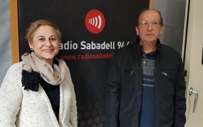 Antonio Ontiveros i Maite Díaz, de l'AV de l'Eixample/ Raquel Garcia