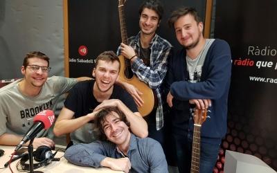 Els Ovella Xao a l'estudi de Ràdio Sabadell | Raquel García
