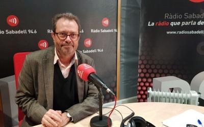 El doctor Monsó ha parlat de les al·lèrgies a Ràdio Sabadell/ Raquel Garcia