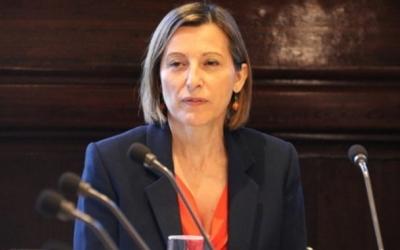 Carme Forcadell al Parlament de Catalunya | Arxiu