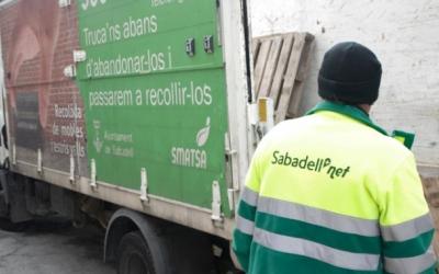 SMATSA organitza el servei de recollida d'escombraries de la ciutat | Arxiu
