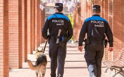 La Unitat Canina ha anat creixent en nombre d'agents en els últims anys/ Cedida