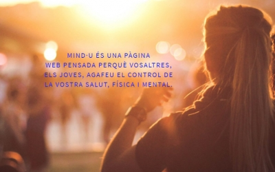 Captura del portal web Mind-U