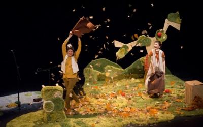 La companyia Engruna Teatre presenta l'espectacle Loops.