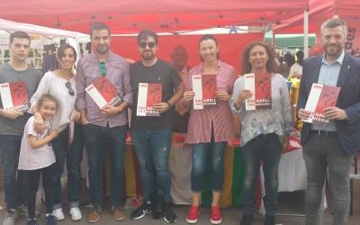 Parada del PSC a la Diada de Sant Jordi | Pau Duran
