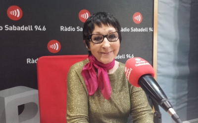 Mirna Lacambra a Ràdio Sabadell | Pau Duran