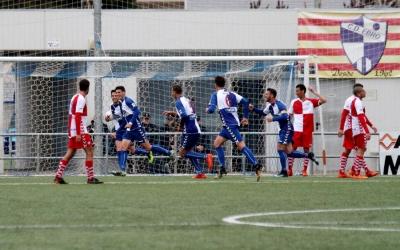 El gol de l'Ebro diumenge també va ser a la sortida d'un córner | Sandra Dihör