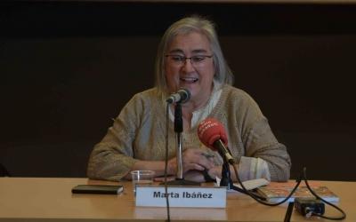 Marta Ibáñez durant la presentació del llibre | Roger Benet